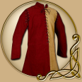 Costume -Red / Yellow Gambeson with removable sleeves